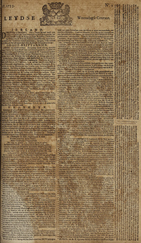 Leydse Courant 1753-01-03