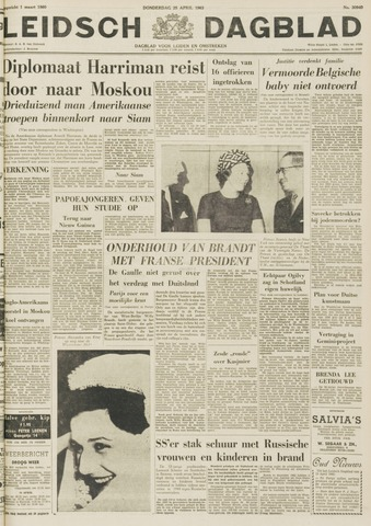 Leidsch Dagblad 1963-04-25
