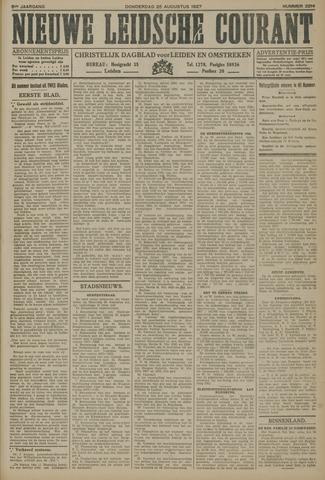 Nieuwe Leidsche Courant 1927-08-25