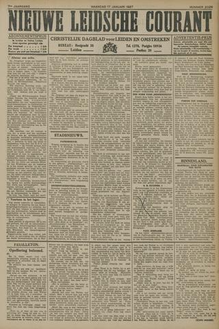 Nieuwe Leidsche Courant 1927-01-17