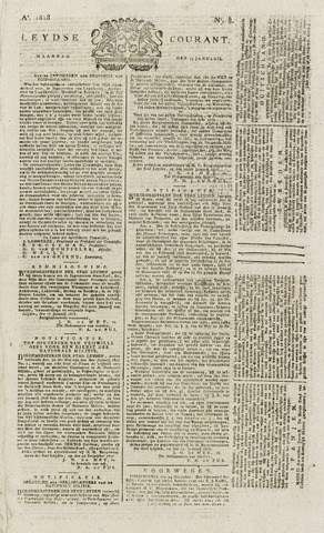 Leydse Courant 1818-01-19