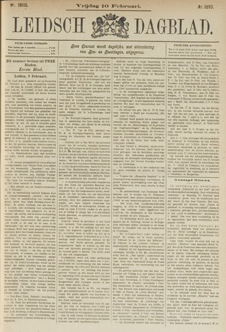 Leidsch Dagblad 1893-02-10