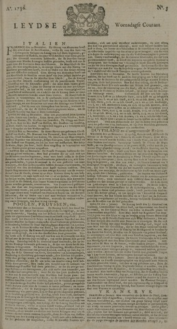Leydse Courant 1736-01-11