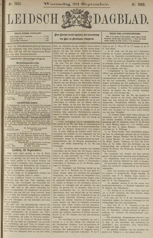 Leidsch Dagblad 1885-09-23