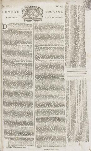 Leydse Courant 1815-11-15