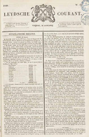 Leydse Courant 1849-01-26