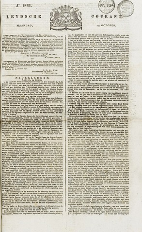 Leydse Courant 1841-10-25