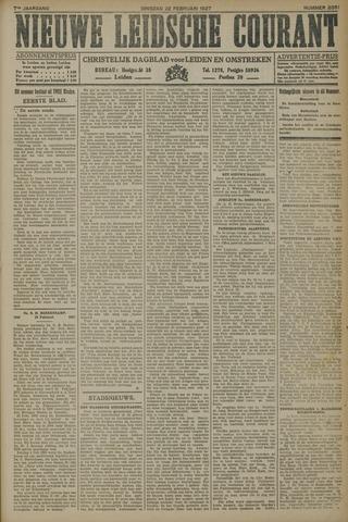 Nieuwe Leidsche Courant 1927-02-22