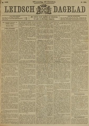 Leidsch Dagblad 1904-10-19