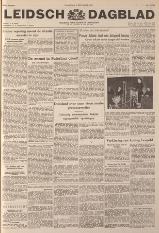 Leidsch Dagblad 1947-12-08