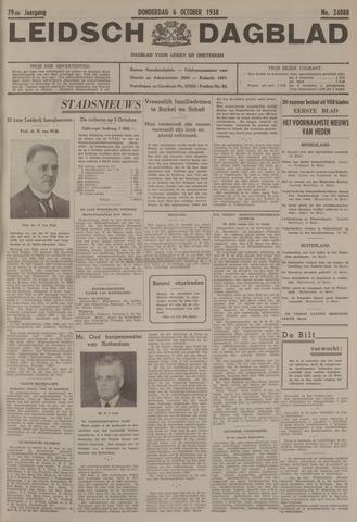 Leidsch Dagblad 1938-10-06