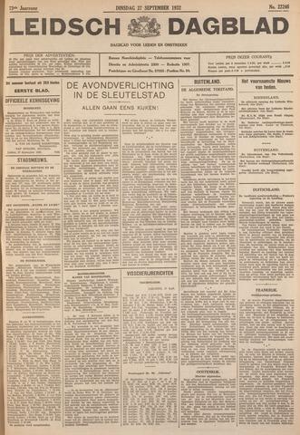Leidsch Dagblad 1932-09-27