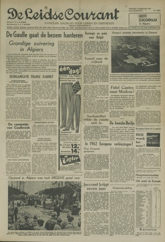 Leidse Courant 1960-02-05