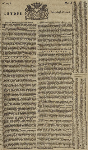 Leydse Courant 1758-10-02