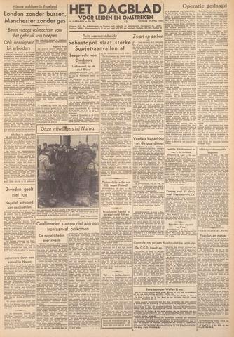 Dagblad voor Leiden en Omstreken 1944-04-25
