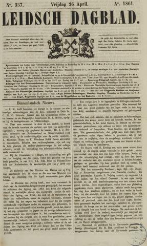 Leidsch Dagblad 1861-04-26