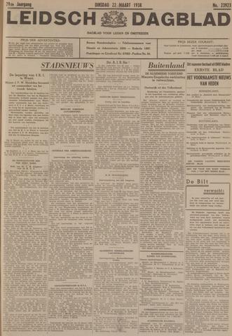 Leidsch Dagblad 1938-03-22