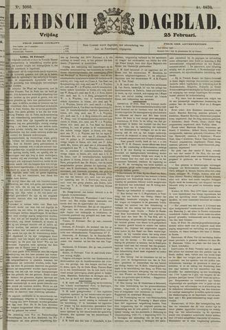 Leidsch Dagblad 1870-02-25