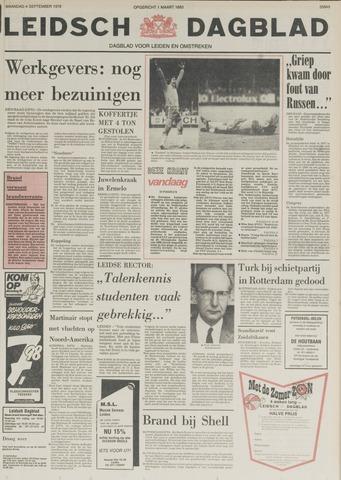 Leidsch Dagblad 1978-09-04