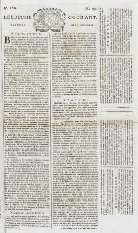 Leydse Courant 1824-11-01