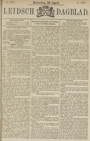 Leidsch Dagblad 1885-04-18