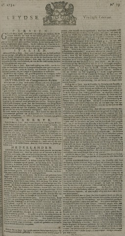 Leydse Courant 1734-07-02