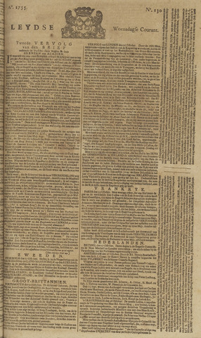 Leydse Courant 1755-10-29