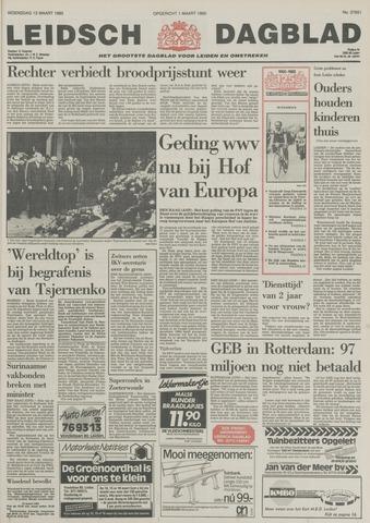Leidsch Dagblad 1985-03-13