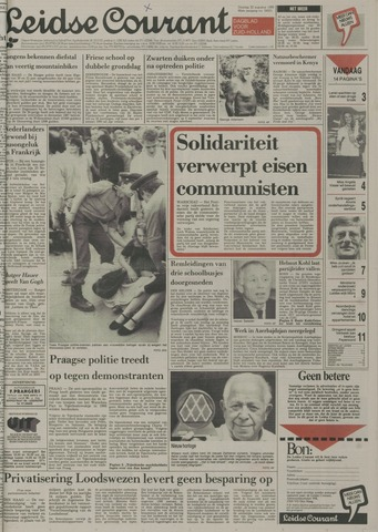 Leidse Courant 1989-08-22