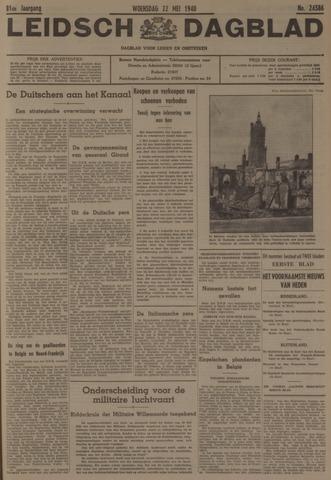 Leidsch Dagblad 1940-05-22