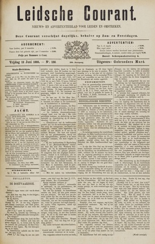 Leydse Courant 1885-06-12