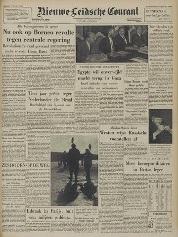 Nieuwe Leidsche Courant 1957-03-12