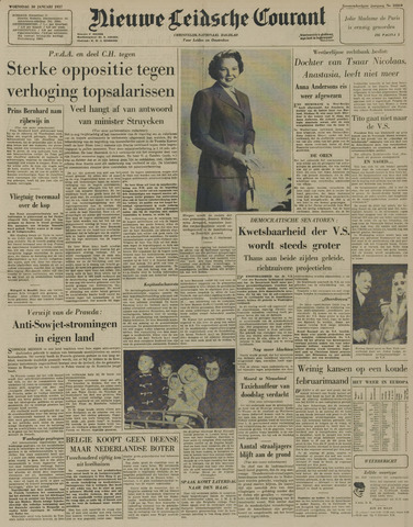 Nieuwe Leidsche Courant 1957-01-30