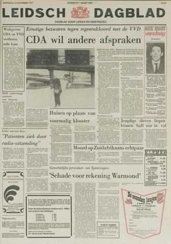 Leidsch Dagblad 1977-11-23