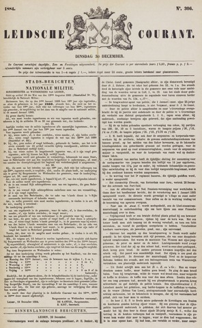 Leydse Courant 1884-12-30