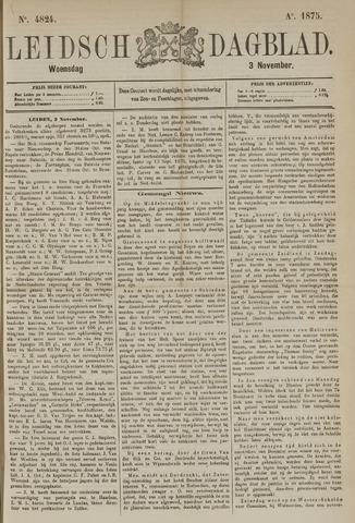 Leidsch Dagblad 1875-11-03