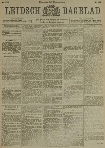 Leidsch Dagblad 1904-12-27