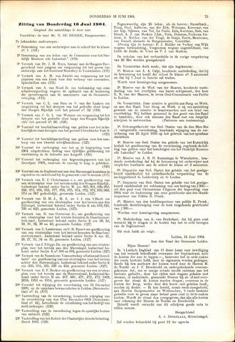 Handelingen van de Raad 1904-06-16