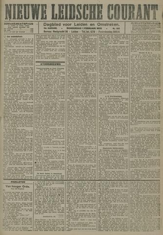 Nieuwe Leidsche Courant 1923-02-01