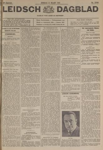 Leidsch Dagblad 1933-03-21