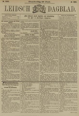 Leidsch Dagblad 1890-06-19