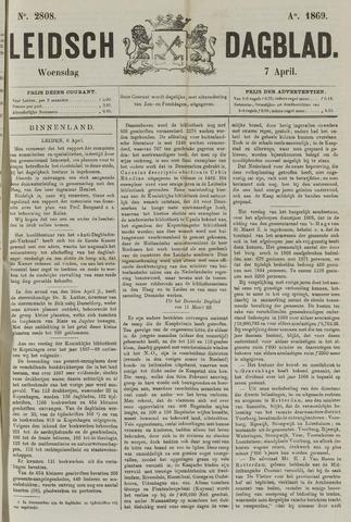 Leidsch Dagblad 1869-04-07