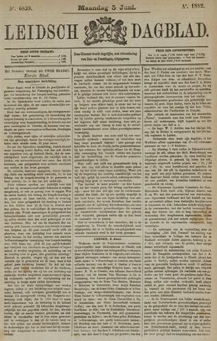 Leidsch Dagblad 1882-06-05