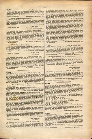 Handelingen van de Raad 1879-08-07