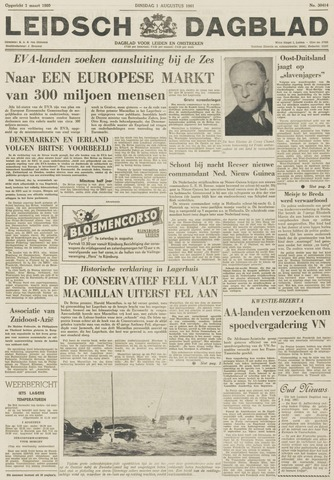 Leidsch Dagblad 1961-08-01
