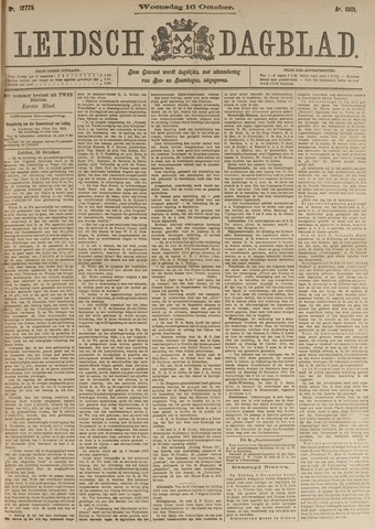 Leidsch Dagblad 1901-10-16