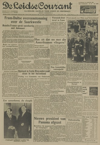 Leidse Courant 1955-01-15