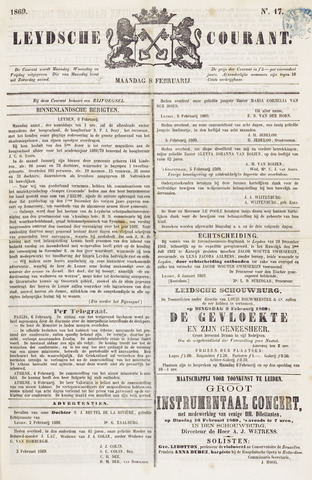 Leydse Courant 1869-02-08
