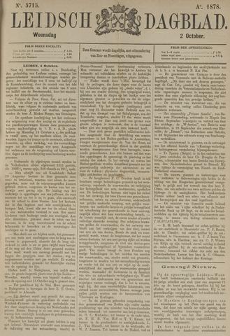 Leidsch Dagblad 1878-10-02