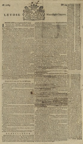 Leydse Courant 1763-02-14
